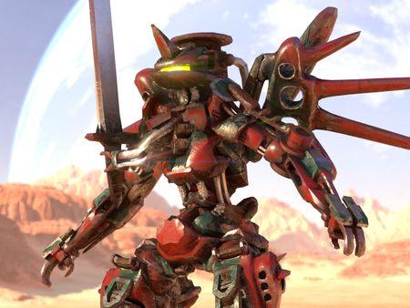 "March of Robots 2021: ""Sword"""