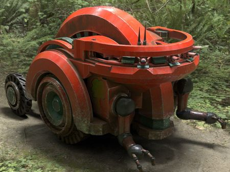 """March of Robots 2021: """"Wheel"""""""