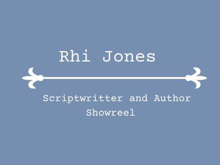 Rhianon Jones