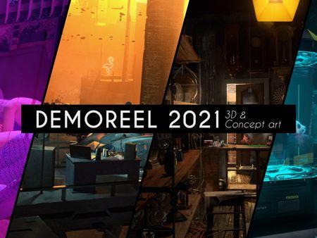 3D & Concept art - Demoreel 2021 / Vincent Brachmanski