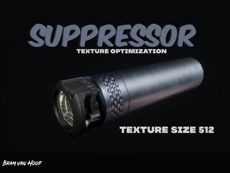 Suppressor (Breakdown / learning texture optimization😀)