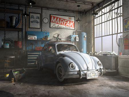 NOSTALGIA: Beetle Garage