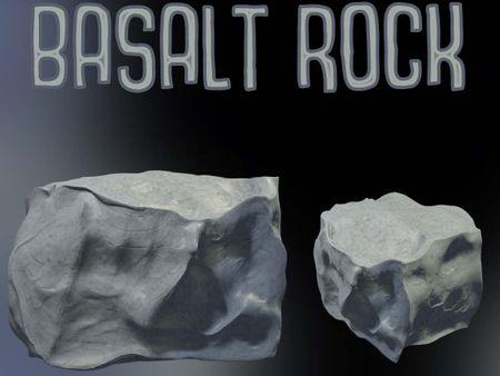 Bryce Forren - Basalt Rock 3D Sculpt