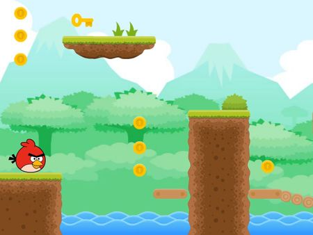 ANGRY BIRD JUMPS