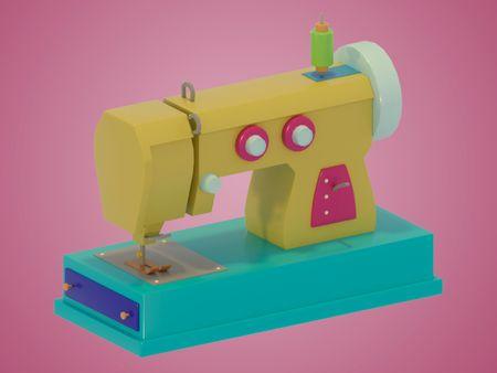 Sewing machine asset