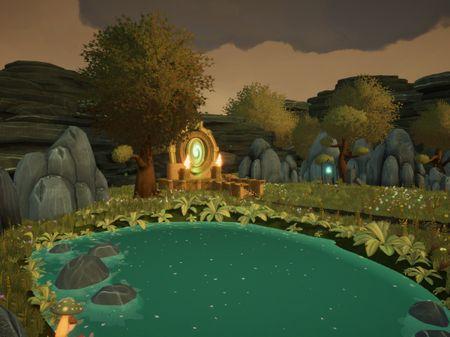3D Magical Environment