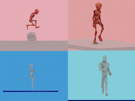 3D characthers animations