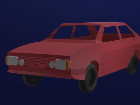 Low Poly Volkswagen