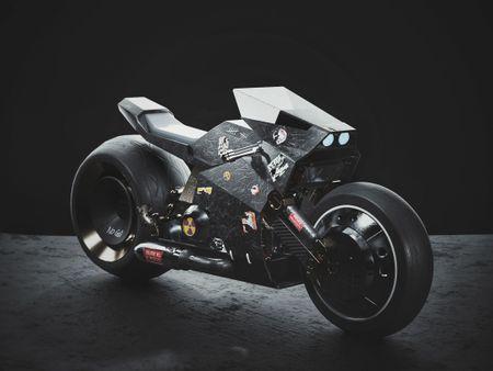 SCI-FI MOTOR CYCLE