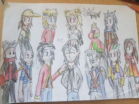 Mascots (I have 11)