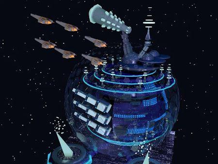 3D Diorama War Planet