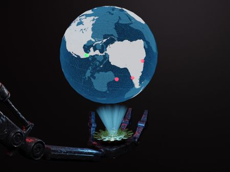 Sci fi treasure map