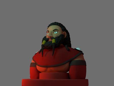 Character Design - Dwarf Paladin