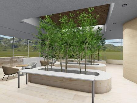 Apple Inc. Relaxation area