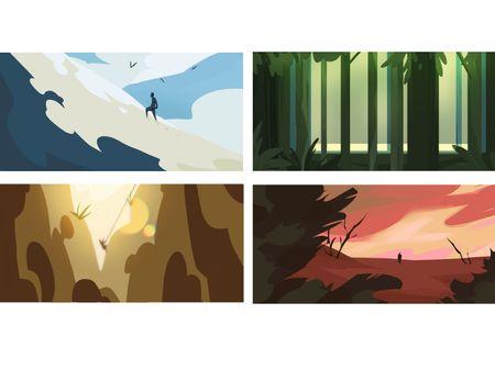 Concept Art / Background / Color Key