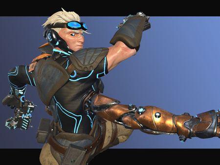 Talos Ranger - Character Art