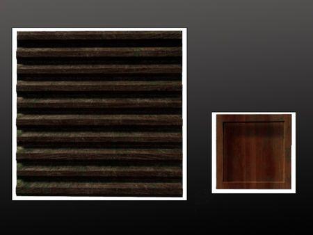 Log Wall and Box