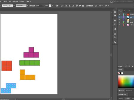 Tetris con After Effects