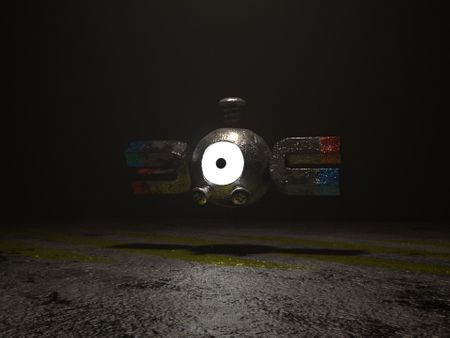 Magnemite Model and Textures