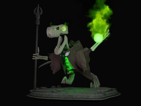 Necro-Raptor Model and Textures