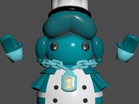 Overcoocked character