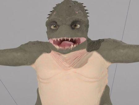 Reptile Alien Creature