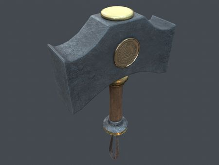 Mjolnir, hammer of Thor