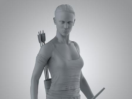 likeness Alicia Vikander 3d Printable model