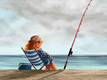 Fisherman fish fishing fishes