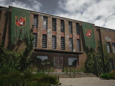 Abandoned American School
