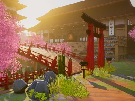 Stylized Environment/Feudal Japan