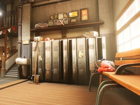 Stylized Interior Environment (Boxing gym)