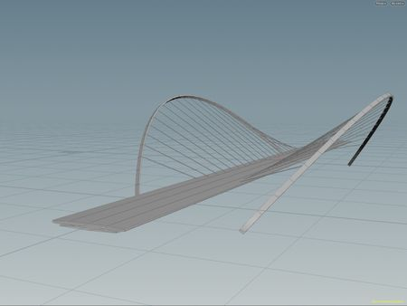 Simple procedural bridge