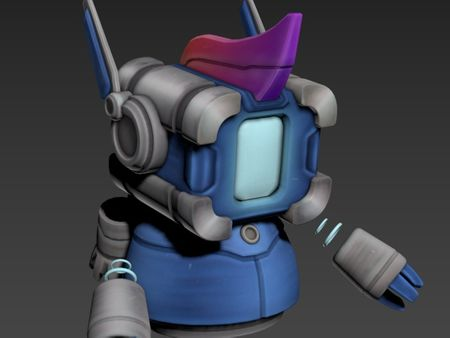 Robot Skin for Overcooked Game