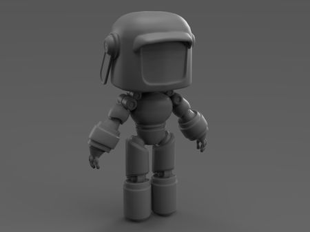 Robot from the Love death and robots