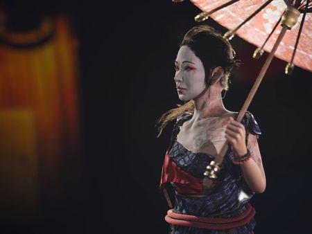 3D Character Geisha - Dat Matthias Nguyen
