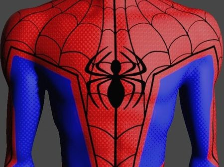 Spiderman Into The Spiderverse: Peter B. Parker Spiderman 3D Model