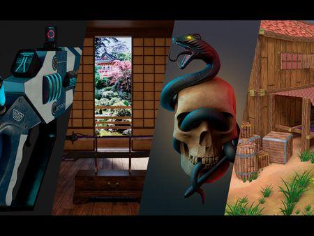 Animation Models Showreel | DeivBoo