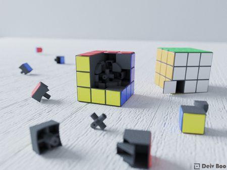 Rubik's cube or Magic cube