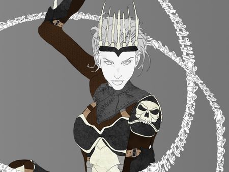 League of Legends Character Design - Dreda Nightshade Necromancer Princess