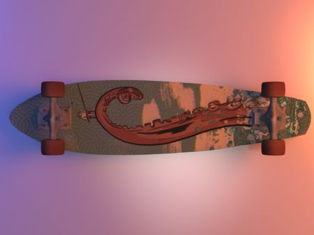 "Skateboard ""PENNY"""