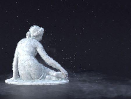 Ice Growing simulation, Houdini
