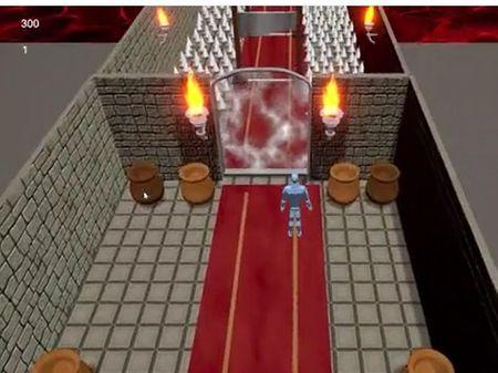 3D PLATFORM GAME  CASTMA