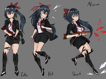 Nightmare Lab: Character Designs