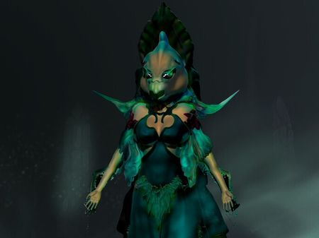 The sorceress Lady