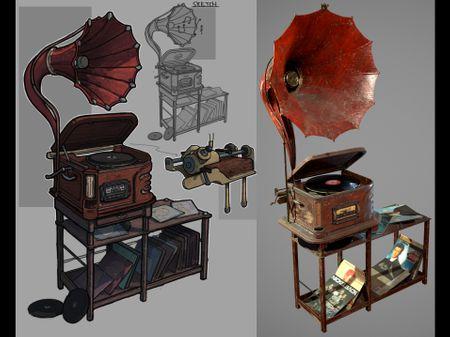 Gramophone Design