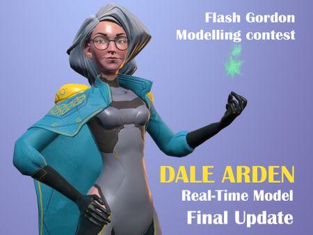 Flash Gordon Modelling Contest - Dale Arden