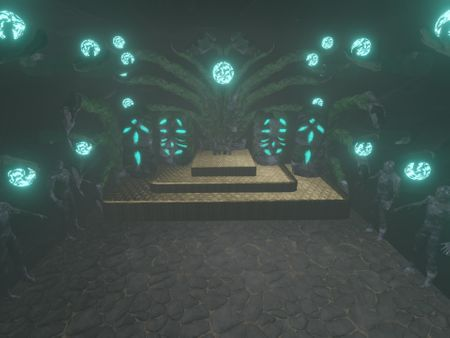 The alien Temple : Weidah