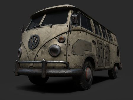 Armored Kombi Van