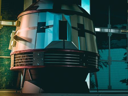 Steins;Gate FG204 Time Machine